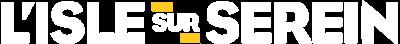 logo Isle sur Serein blanc